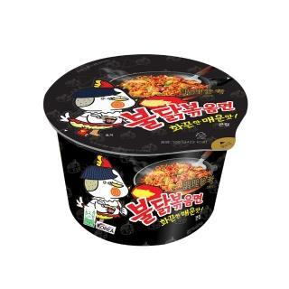 【SAMYANG】火辣雞肉風味鐵板炒麵(碗麵105g)