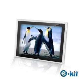 【逸奇e-Kit】15吋數位相框電子相冊-透明邊框黑色(DF-V801_TB)