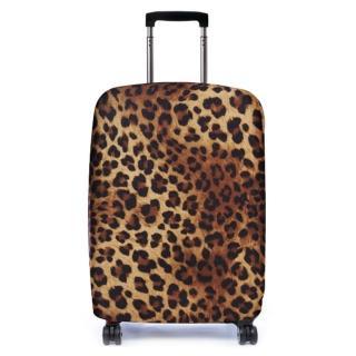 【Bibelib】行李箱套-非洲豹(適用26-31吋行李箱)