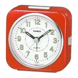 【CASIO】微型照明輕便桌上型鬧鐘(TQ-143S-4)