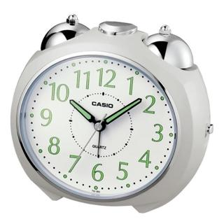 【CASIO】圓弧流線造型鬧鐘(TQ-369-7)