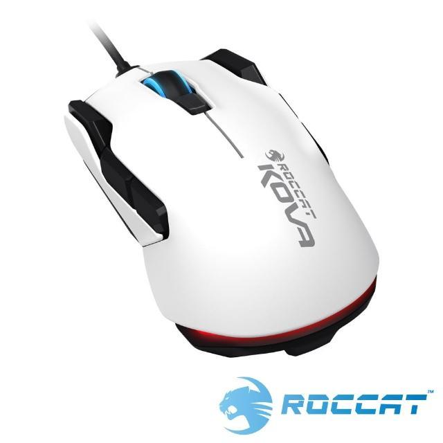 【ROCCAT】NEW KOVA 光學電競滑鼠-白