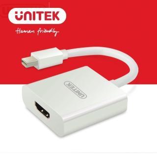 【UNITEK 優越者】Mini DP轉HDMI轉換器(Y-6325WH)