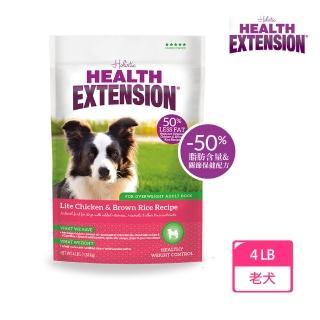 【Health Extension 綠野鮮食】高齡犬 體重控制 低卡配方 大顆粒 4LB(1LBx4包) 狗飼料 飼料(A001A091-2)