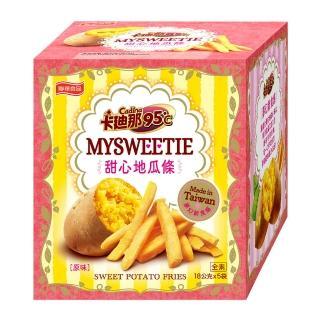【卡迪那】台灣地瓜條原味-18gx5包(聯華食品)