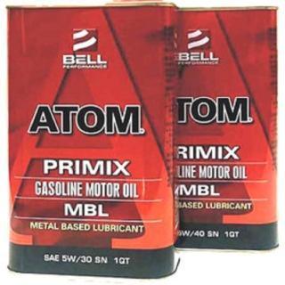 【美國貝爾BELL】ATOM MBL MOTOR OIL(特效護缸機油 5W30 SN 4入一組)特價