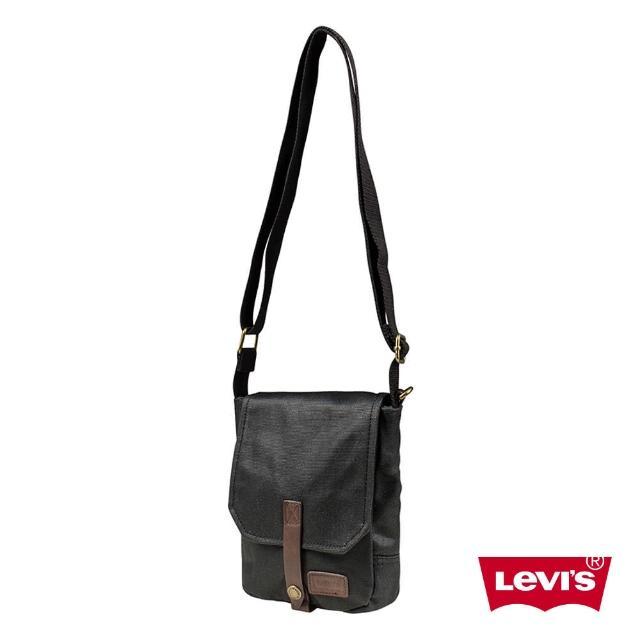 【Levis】男款側背包 / 復古 / 質感黑買到賺到