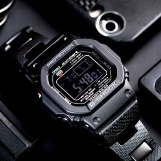 【G-SHOCK】經典潮流太陽能電波錶(GW-M5610BC-1)
