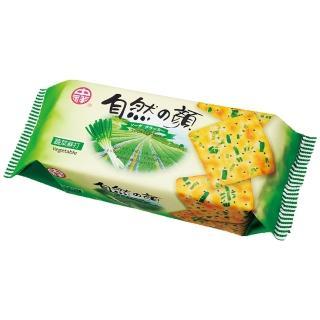 【中祥】自然之顏蔬菜蘇打餅乾120g