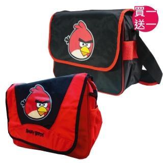 【imitu 米圖】Angry Birds 憤怒鳥 休閒側背包(買一送一)