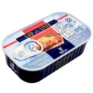 【冰島】鱈魚肝-藍鐵罐(120g)/