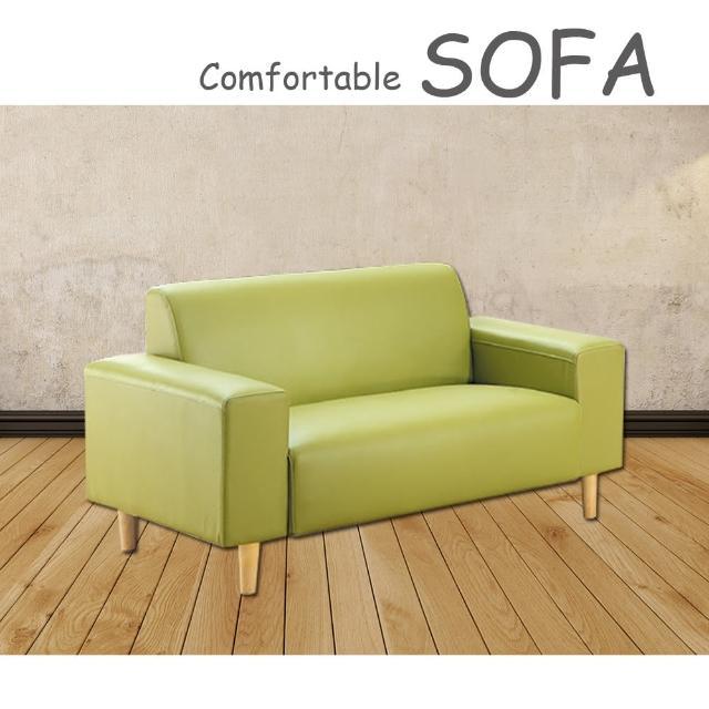 【時尚屋】蘿絲蘋果綠特殊透氣皮雙人座沙發(U6-919-502)