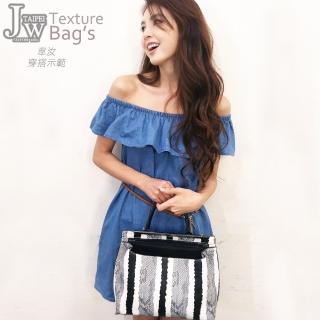 【JW】韓國原單雙面佳人獨特設計兩用肩背包(共2色)
