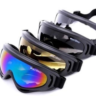 【May Shop】WOLF BIKE騎行眼鏡 CS護目鏡 摩托車防風鏡 騎車鏡(多色選擇)