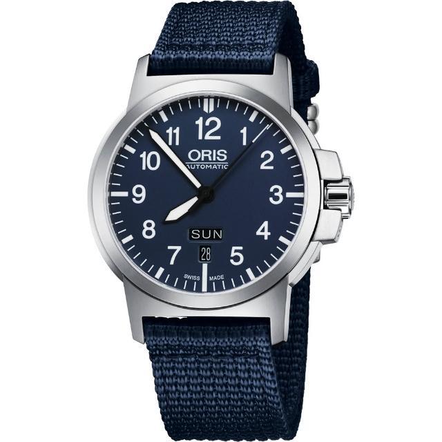 【ORIS】BC3 Advanced 日曆星期機械腕錶-藍/42mm(73576414165-0752226)