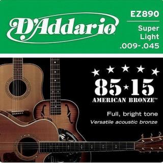 【美佳音樂】D'Addario EZ890 美國進口民謠吉他套弦(09-45)