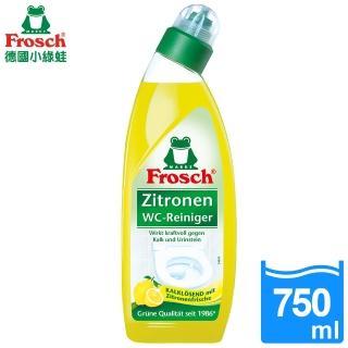 【Frosch德國小綠蛙】天然檸檬馬桶清潔劑750ml/