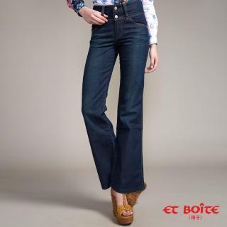 【BLUE WAY】經典高腰寬褲- ET BOiTE 箱子