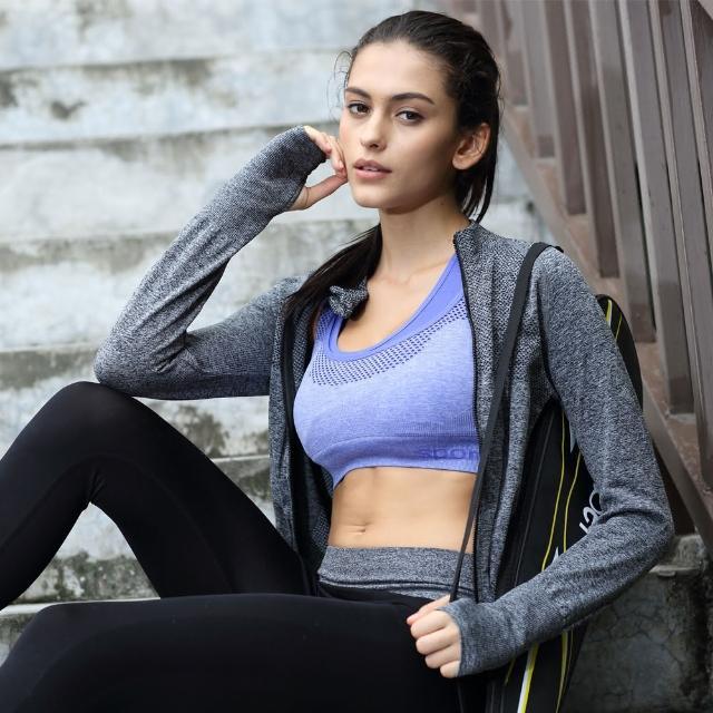 【JS嚴選】窈窕機能顯瘦防曬運動外套(運動外套+爆汗腰夾)