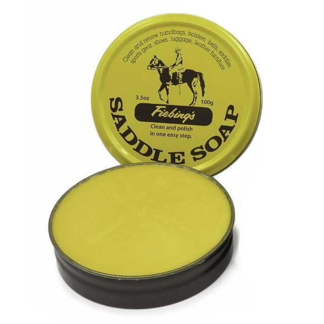 【糊塗鞋匠 優質鞋材】K02 Fiebing皮革清潔肥皂膏100g(罐)