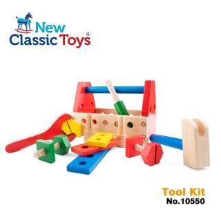 【荷蘭New Classic Toys】基礎小木匠木製玩具組(10550)