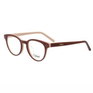 【CHLOE】-復古 圓框 光學眼鏡 CE2680A-905(咖啡色)