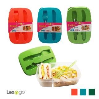 【LEXNGO】可微波餐盒-附刀叉(餐盒 環保 便當盒  野餐)
