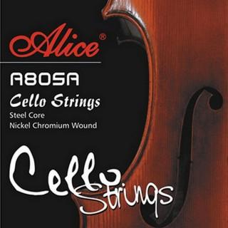 【美佳音樂】Alice A805A 大提琴套弦(高級高碳鋼芯/鎳鉻合金纏弦)