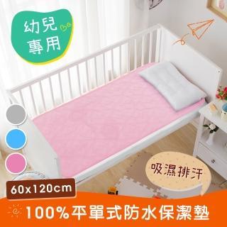 【三浦太郎】幼兒專用。吸濕排汗專利。防水平單式保潔墊60X120/三色任選(保潔墊/吸濕墊)
