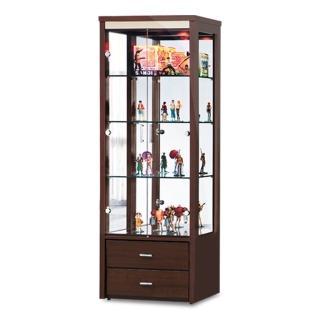 【時尚屋】米堤2.2尺展示櫃 5U7-261-868三色可選(免運費 客廳 展示櫃)