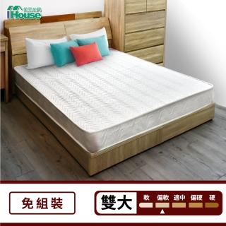 【IHouse】日式透氣三線獨立筒床墊(雙大6x6.2尺 / 高20cm)