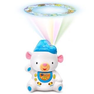 【Vtech】晚安熊音樂舒眠投射機(快樂兒童首選玩具)