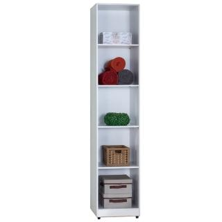 【AT HOME】凱倫1.3尺白色開放隔板衣櫃