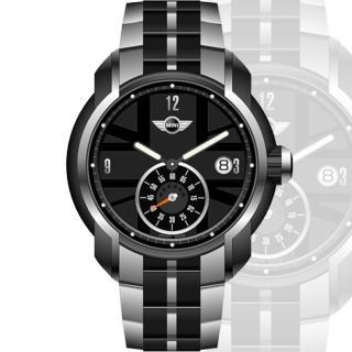 【MINI Swiss Watches】英國圖騰鋼帶經典時尚腕錶(42mm/MINI-48S)