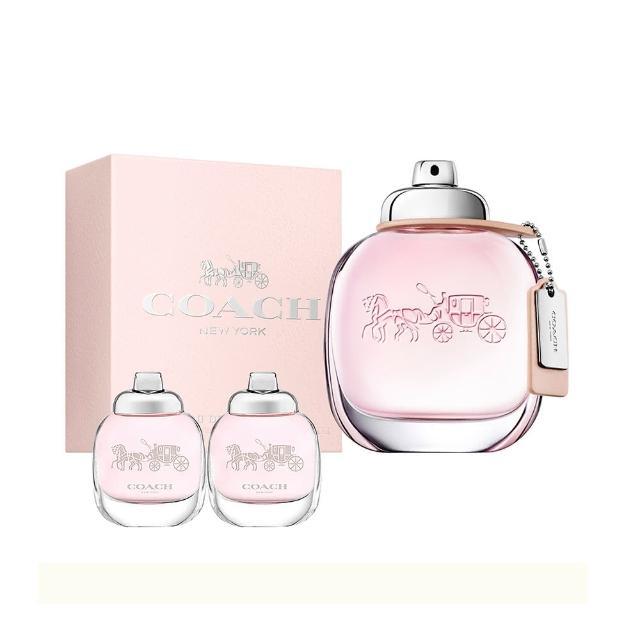 【COACH】時尚經典女性淡香水50ml(贈送同款小香4.5ml*2)