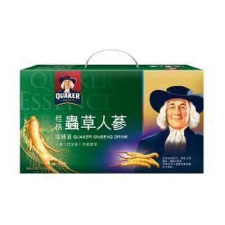 【桂格】冬蟲夏草養氣人蔘滋補液禮盒60ml×16入