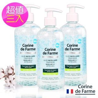 【Corine法國黎之芙】淨妍高效保濕潔膚凝膠500ml(超值三入)