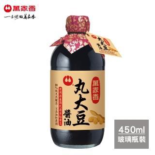 【萬家香】丸大豆醬油(450ml)