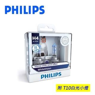 【PHILIPS飛利浦】車燈 璀璨之光WhiteVision(公司貨)