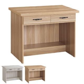 【BODEN】東尼3尺二抽書桌/工作桌(兩色可選)