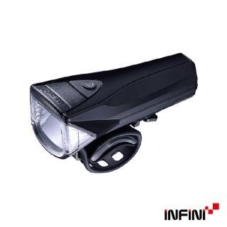 【INFINI】SATURN I-330P 反射光USB充電式前燈(黑色)