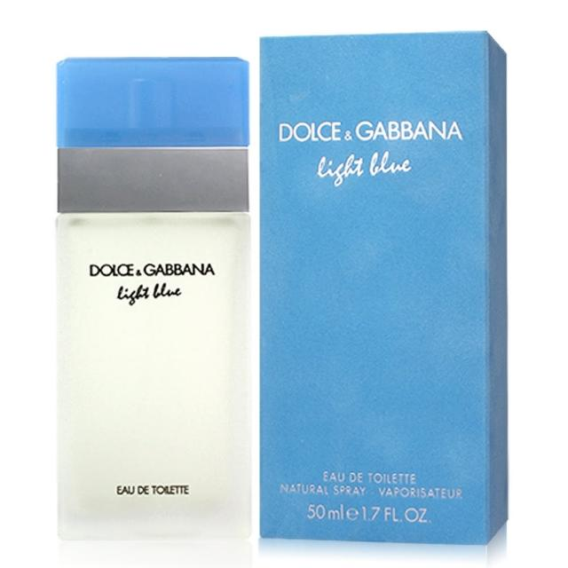 【D&G】Light Blue淺藍女性淡香水(50ml)