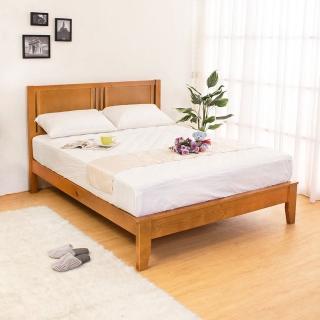 【BODEN】蒂琪5.2尺實木雙人床架