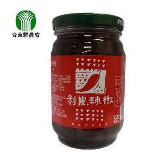 【台東縣農會】剝皮辣椒(440公克/瓶)