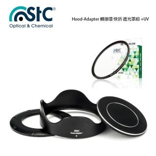 【STC】Hood-Adapter 轉接環 快拆 遮光罩組+UV 保護鏡(For SONY RX100 M1-5)