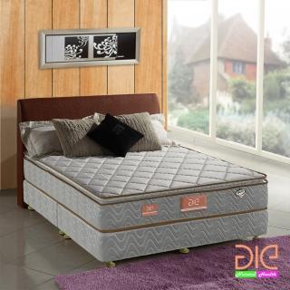 【aie享愛名床】竹碳+3M防潑水+乳膠真三線獨立筒床墊-雙人加大6尺(經濟型)