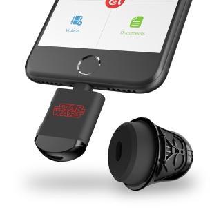 【ADAM】iKlips 星際大戰黑武士 iOS/microSD 雙介面讀卡機(不含記憶卡)