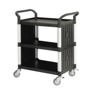 【100%台灣製】標準多功能三層側圍邊工具餐車/手推車/置物架