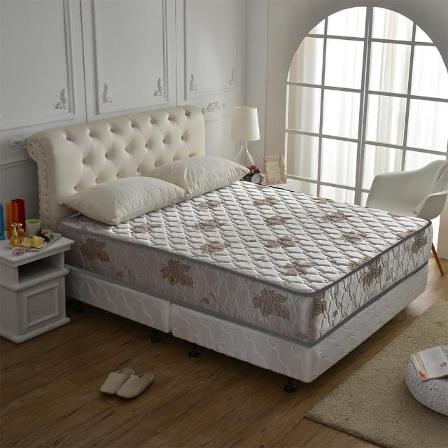 【睡芝寶】涼爽抗菌-(側邊強化獨立筒床墊-雙人加大6尺-涼爽紗)