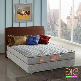 ~aie享愛名床~竹碳 3M防潑水二線彈簧床墊~雙人5尺 經濟型